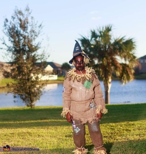 Full costume!!!, Zombie Scarecrow Costume