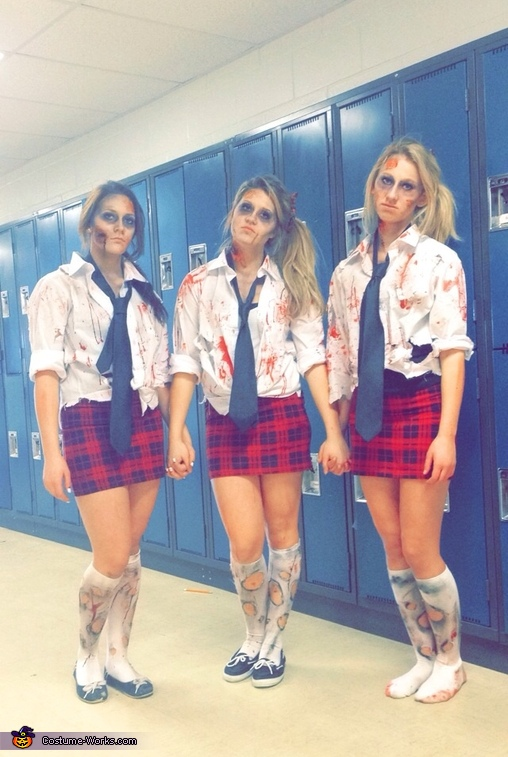 Zombie School Girls Costume