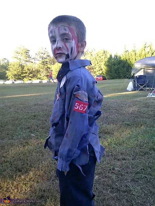 Zombie Scout, Zombie Scout Costume