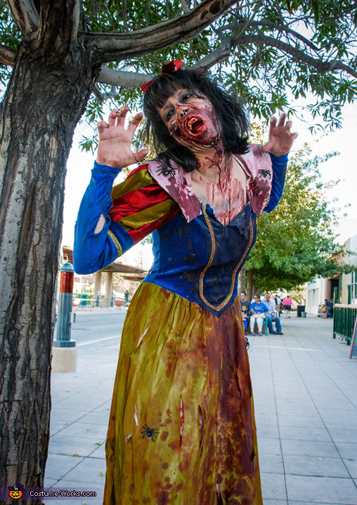 love this one too! , Zombie Snow White Costume