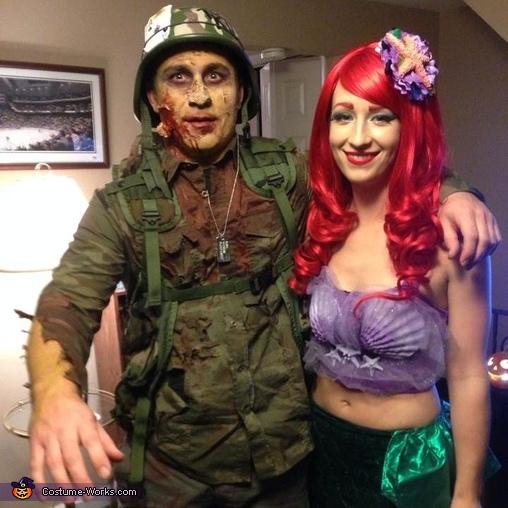 Zombie Soldier Costume