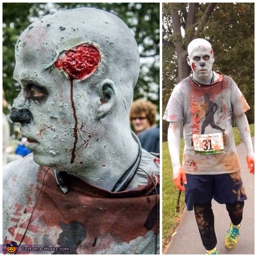Zombie trail runner, Zombie Trail Runner Costume