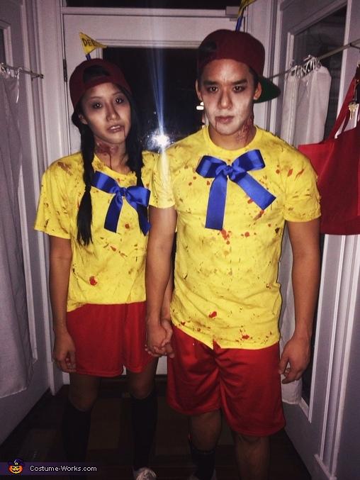 Zombie Tweedle Dee and Tweedle Dum Costume