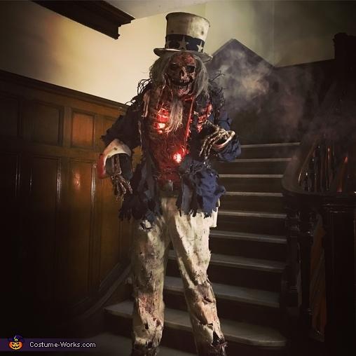 Zombie Uncle Sam Costume