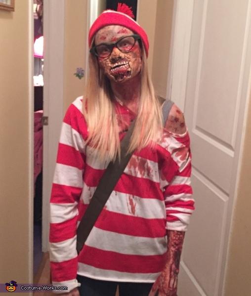 Zombie Waldo Costume