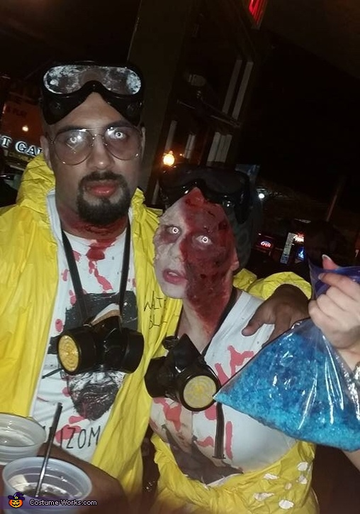 Zombie Walter White and Jesse Pinkman Costume