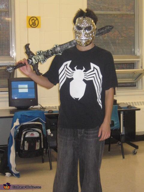 Zombie Warrior Costume