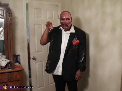 zombie groom, Zombie Wedding Party Costume