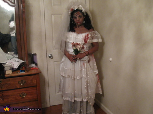 zombie bride, Zombie Wedding Party Costume
