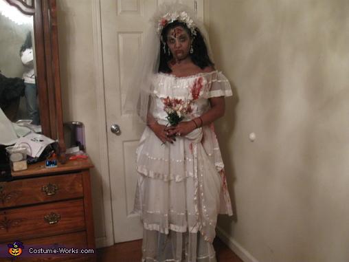 zombie bride, Zombie Wedding Party Costume
