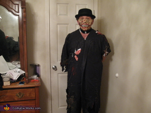 zombie minster, Zombie Wedding Party Costume