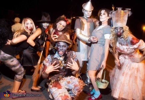 Zombie Wizard of Oz Group Costumes