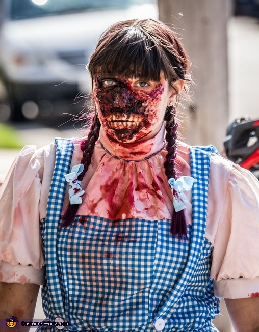 Dorothy, Zombie Wizard of Oz Costume