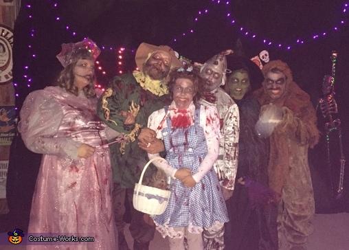 Zombie Wizard of Oz Costume