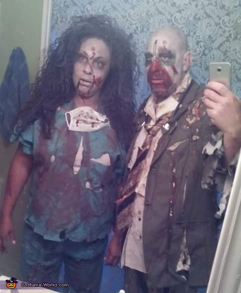 Where it began, Zombies Costume