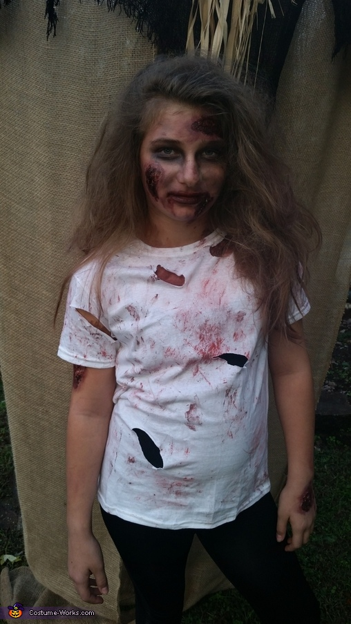 Zombies Homemade Costume