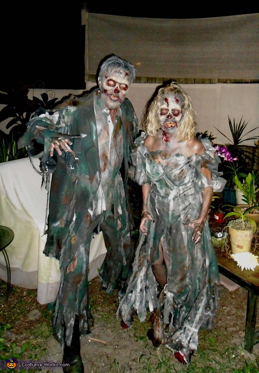 Zombie Couple Costume