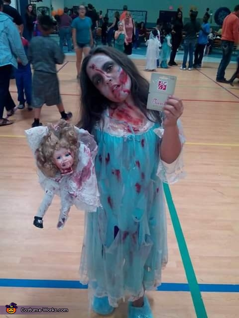 Our zombie child, Zombies Costume
