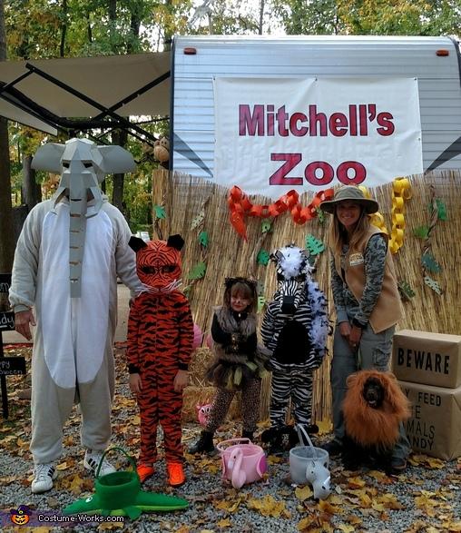 Mitchell's Zoo Costume