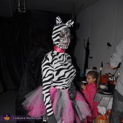 Zebra and Zoo Keeper Couples Costume