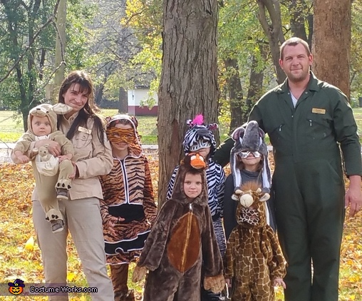 Zoo Keepers and Animals Costume