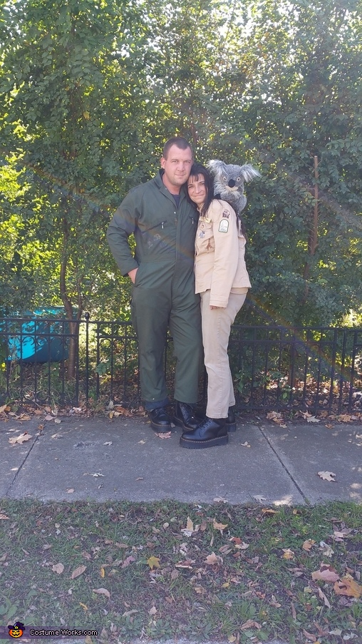 Zoo Keepers and Animals Homemade Costume