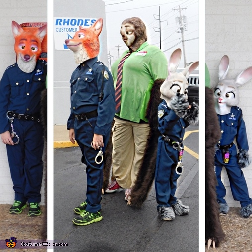 Zootopia Family Costume - Photo 2 4 ca4e1a4a54