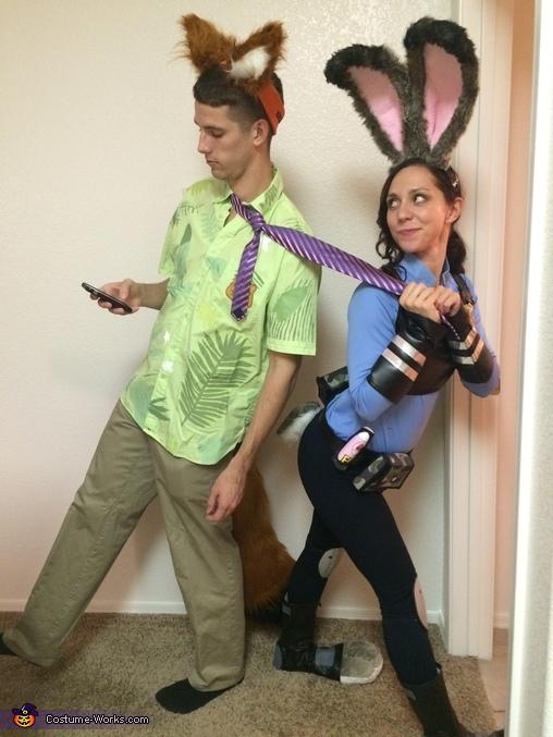 Nick and Judy Hopps Costume