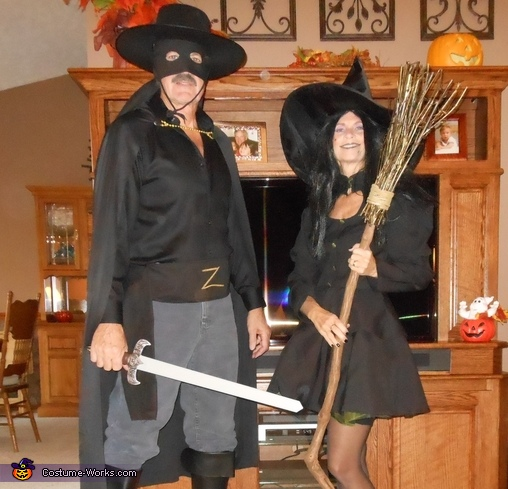 Zorro and the Witch Costume