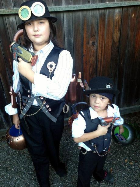 Boys Halloween Steampunk Costumes