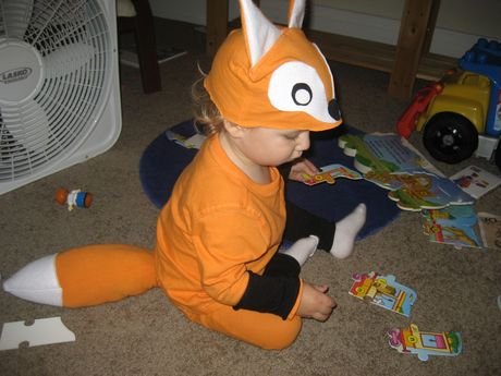 DIY Fox Costume