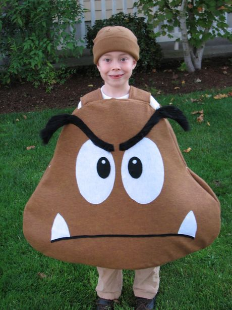 Super Mario Goomba Costume {tutorial}