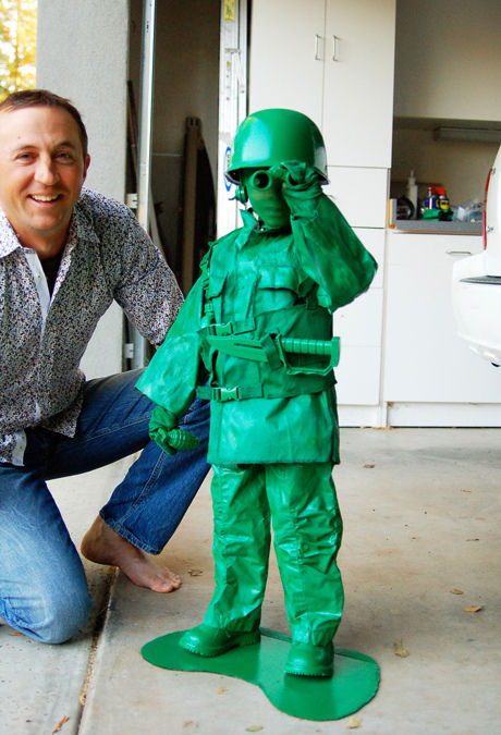 Toy Army Men Costume {tutorial}