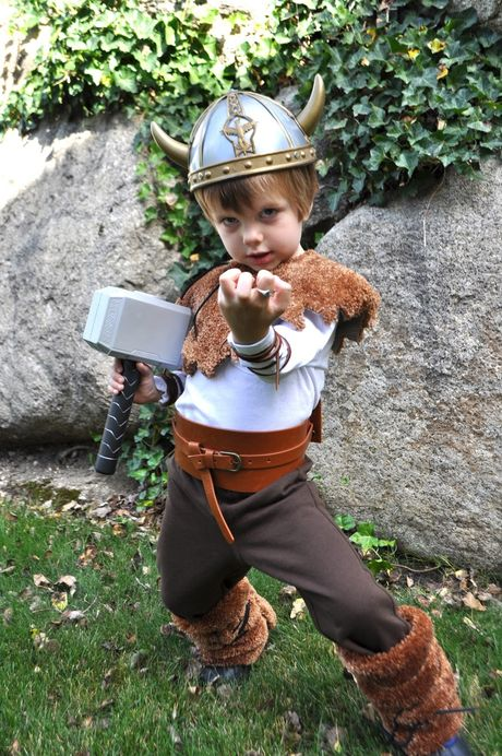 DIY Viking Warrior Costume {tutorial}