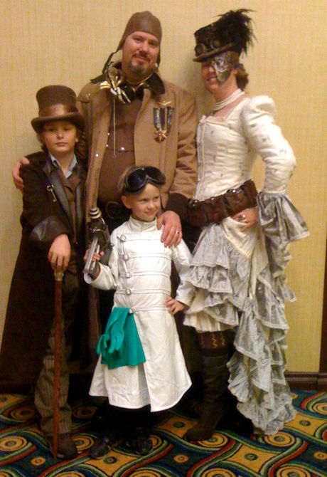 Steampunk Family Costume Ideas