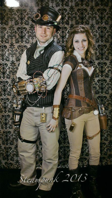 Steampunk Couple Costume