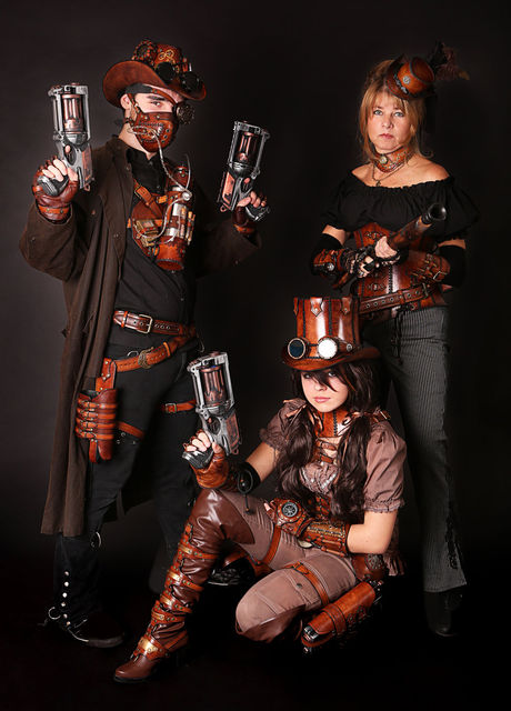 Steampunk Family Costume