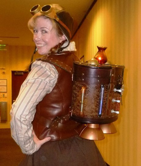30 creative steampunk costume ideas steampunk jetpack solutioingenieria Image collections