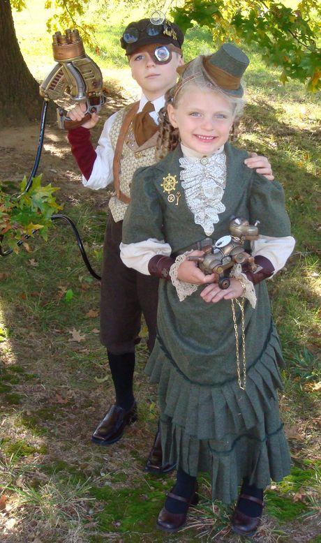 Steampunk Kids Costumes