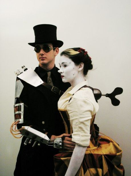 Steampunk Mechanical Doll Costume