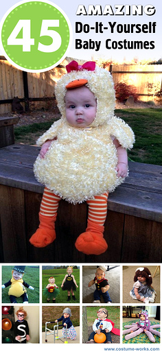 45 Amazing DIY Baby Halloween Costumes