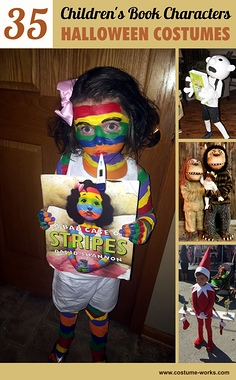 35 Favorite Children's Book Characters Halloween Costumes