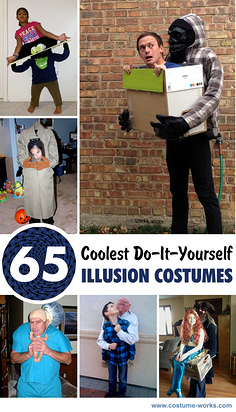 65 Coolest DIY Illusion Costumes