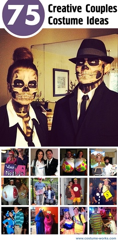 75 Creative Couples Costume Ideas
