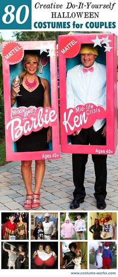 80 Creative DIY Halloween Costumes for Couples