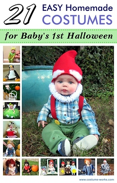 21 Easy Homemade Costumes for Baby's First Halloween