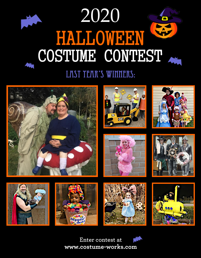 Halloween Costumes 2020 Contest Halloween Costume Contest 2020 | Costume Works