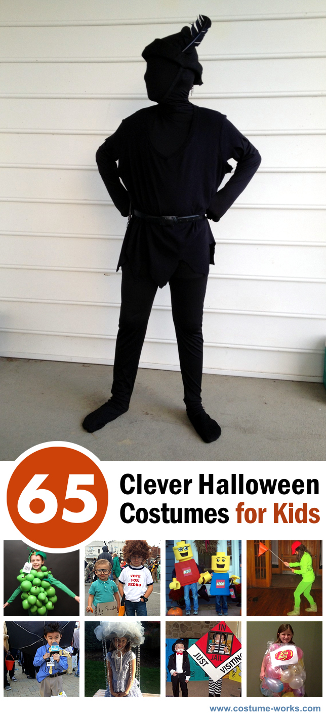 65 Clever Halloween Costumes for Kids - Clever Halloween Costumes