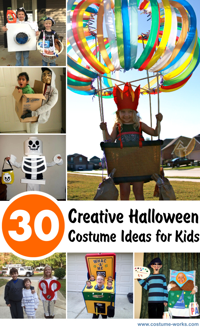 Ideas For Kids Bedroom: 30 Creative Halloween Costume Ideas For Kids