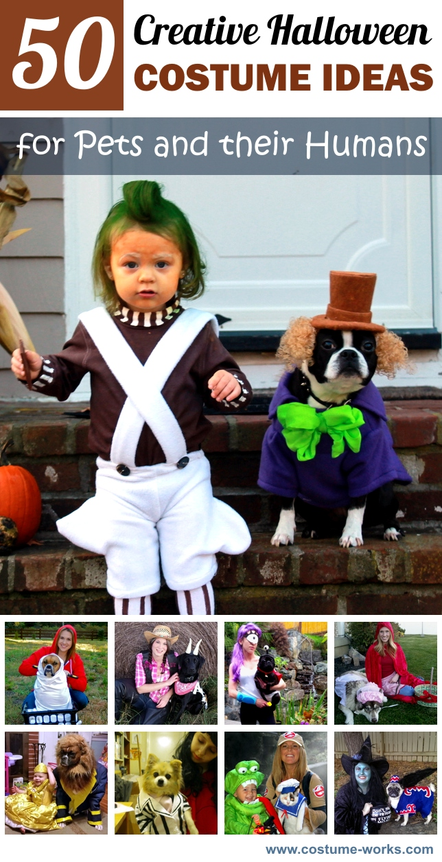 sc 1 st  Costume Works & 50 Creative Halloween Costume Ideas for Pets and their Humans